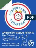 DESPERTANDO SONRISAS - Apreciación musical activa IX