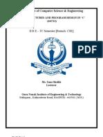 Dspd Cse-4 Course File 09-10