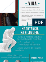 FILOSOFIA DE BACON