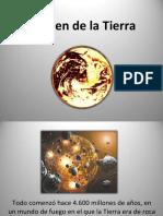ORIGEN DE LA TIERRA(felix victor enriquez pari)