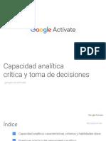 7.1. Capacidad analítica critica y toma de decisiones