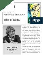 Jane Lazarre_Marzo_2020_VOCES y ECOS