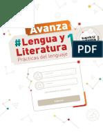 Kapelusz Avanza Lengua y Literatura 1 - Índice