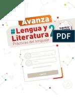 Kapelusz Avanza Lengua y Literatura 2 - Índice