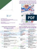 Programa II Encuentro Inter. Mit. UAH