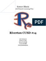 Riverton CUSD 14 Blended Remote Learning Plan