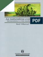 Villarroel and Universitaria - 2006 - La naturaleza como texto hermeneutica y crisis me.pdf