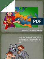 ROMA DIAPOSITIVAS PARA NIÑOS