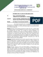 Informe Legal No. 290-2017