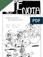 Déme Nota 01 (1978-79)