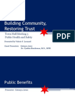 Public Health and Safety Town Hall Meeting