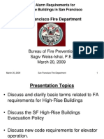 FA Requirements for High-Rises in SF1
