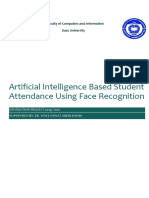 2. Artificial Intelligence Based Student Attendance Using Face Recognition