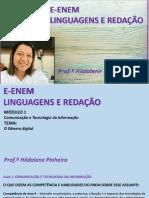 LINGUAGENS - TICS - HILDALENE AULA 1