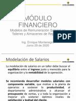 MÓDULO FINANCIERO SALARIOS