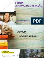 LITERATURA_ARCADISMO NO BRASIL E ROMANTISMO NA EUROPA