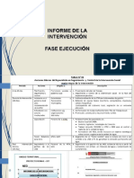 Presentación 5 Informe de Intervención especialistas 2DO