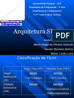 arquitetura SIMD
