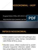 INFEKSI NOSOKOMIAL - IADP