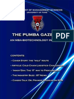 The PUMBA Gazette - December '10 Edition