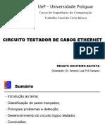 Apresentacao - Circuito Testador de Cabos Ethernet