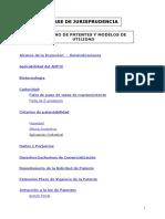 Base de Jurisprudencia Derecho de Patentes