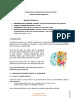 Guía Matriz de Fundamentos de la Recreación.