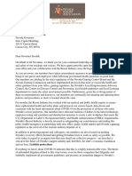 NRA_Liability Letter to Governor