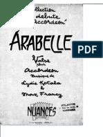 Lydie Kotala et Max Francy (Degré 2 Danse) - Arabelle