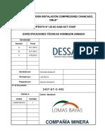 2407-ET-C-002 (0) - Especificaciones Técnicas Hormigón Armado