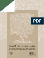 Manual de capacitacion (FAO)