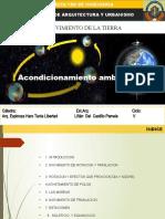 MOVIMIENTO DE LA TIERRA ( ACONDICIONAMIENTO AMBIENTAL)