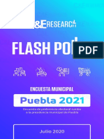Flash Polls 2021 Puebla Julio 2020