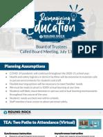 RRISD Plan for Learning