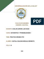 PRACTICA N°5 - ESTADISTICA- Castillo Salinas Braulio