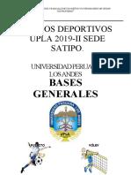 BASES UPLA 2019-II internas