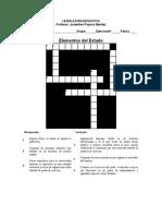Bajar crucigrama elementos del estado.docx