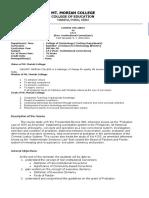 syllabus CA 2 ( Non Institutional Corrections)