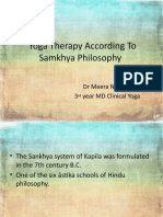 Yoga  According To Samkhya Philosophy