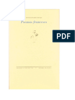 Rainer Maria Rilke - Poemas Franceses