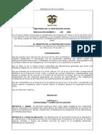 Resolución 4445 del 26 de Abril de 2009 - Estudio Médico Arquitectónico