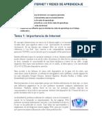 M.2  Internet y Redes de Aprendizaje