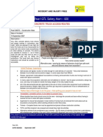 HSE Alert 98 08 - Concrete Truck Access Routes