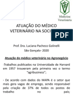 Atuação do médico veterinário no Agronegócio