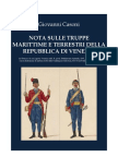 CASONI Giuseppe. Republic of Venice's Army and Navy. 1847