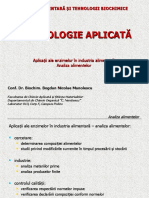 Enzimologie aplicata (Partea 5)