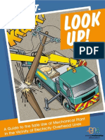 Enegy Network Association - Look out Look up and the safe use of mechanical plant in the vicinity of overhead power lines