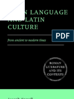 New perspectives on historical Latin syntax