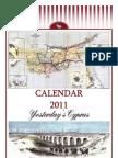 2011 Calendar - Yesterday's Cyprus (English)