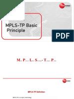 MPLS-TP Principle Introducev2